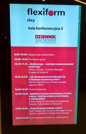 Agenda Flexiform Day w Katowicach