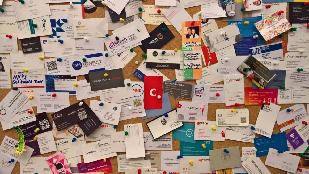 Wizytówka icube.pl w Campusie Google w Warszawie